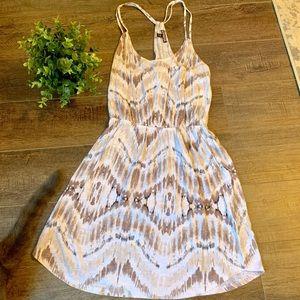 Express tie dye strappy dress